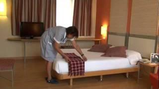 Como hacer una Cama Hotel T3 Tirol Madri...