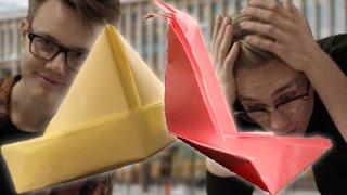 Origami på fars dag - Alla pappers dag