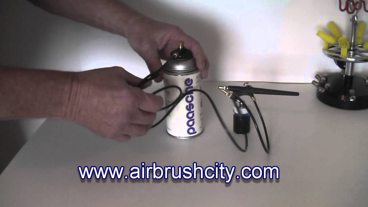 Airbrush City Propellant Can Adapter Regulator Youtube