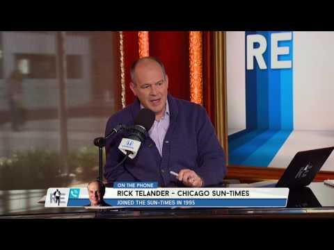 Chicago Sun Times Columnist Rick Telander