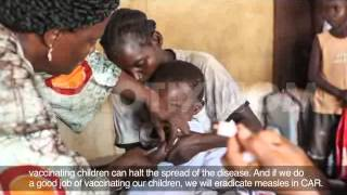 Emergency Measles Vaccination campaign by UNICEF