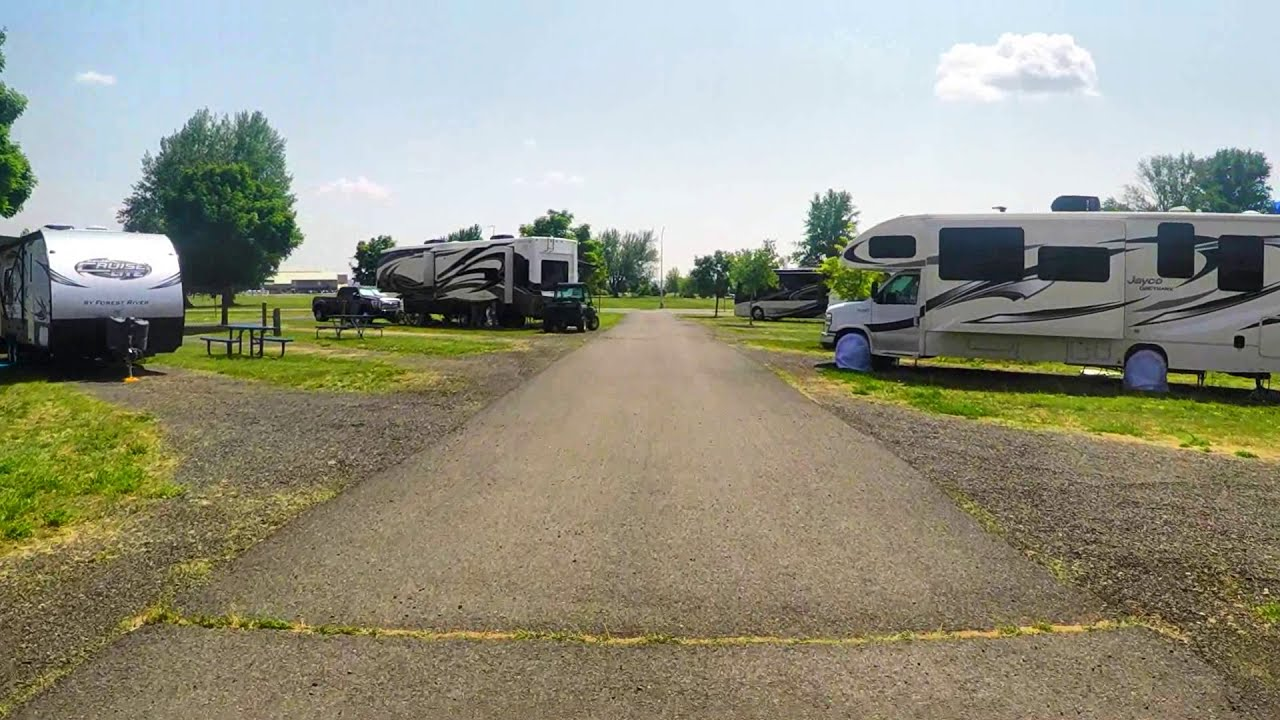 Driving Tour Of Fairchild Afb Famcamp Wa Youtube