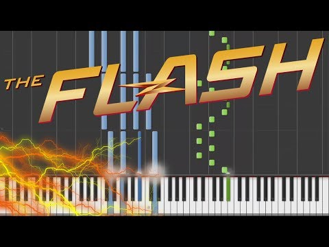 The Flash - Main Theme | Piano Tutorial + Sheets