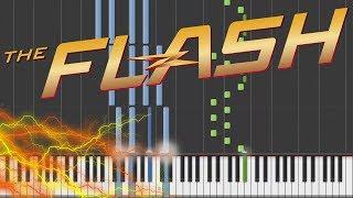 The Flash - Main Theme Piano Tutorial [100% Speed]