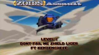 Zoids Assault Level 1: Dont Fail me Shield Liger