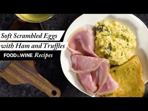 Soft and Creamy Scrambled Eggs   Food & Wine Recipes