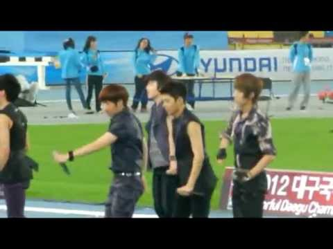 Fancam 120516 Infinite Daegu Athletics Championship - Nothing's Over