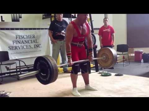 Lifting legend and multi world champion, Jim Cash pulling an IPA World Record 550 lbs.