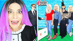 GIANT Dating Game in Real Life with Rebecca To Rescue CRUSH! (Best Friend GMI Agent Missing)