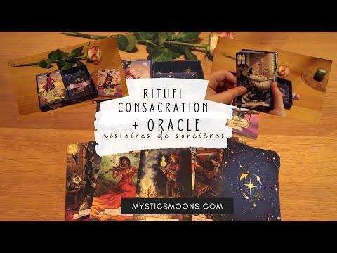 Rituel consacrer un jeu de tarot ou oracle