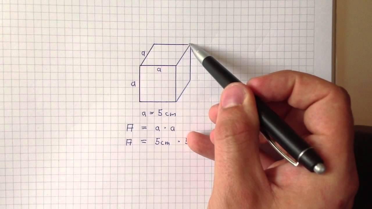 volumen eines quaders berechnen - rechenanleitung - youtube