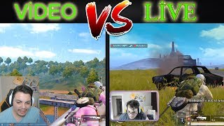 ViDEO BRA Vs LiVE BRA Pubg Mobile