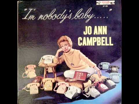08  Jo Ann Campbell -  I ain't got no steady date stereo