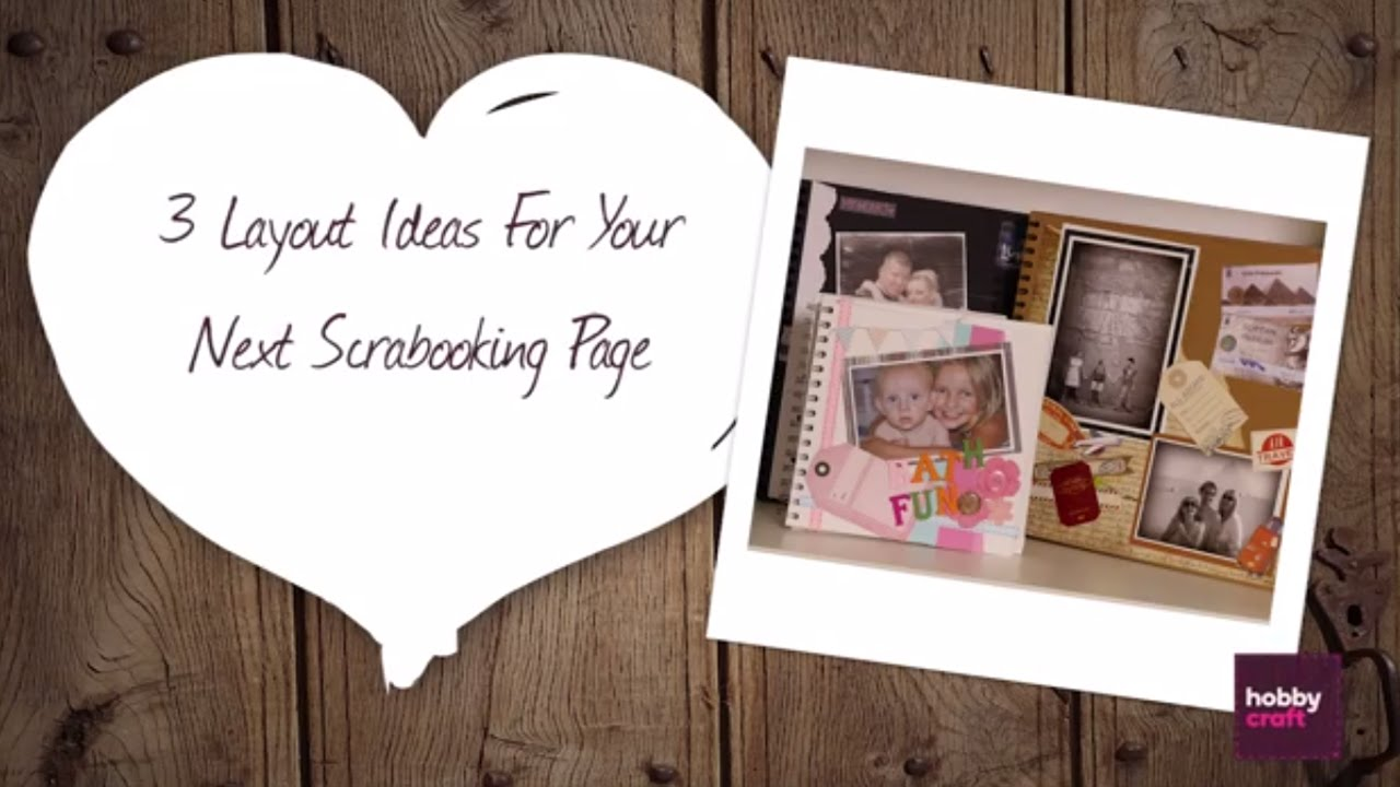 How to scrapbook hobbycraft