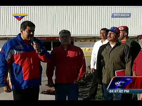 Maduro: detenidos directivos de tiendas (Farmatodo) y da metología a seguir en inspecciones