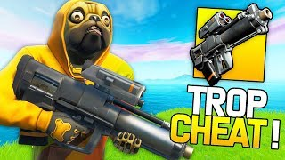 THE NEW ''LANCE-GRENADES OF PROXIMITÉ'' IS TROP CHEAT ON FORTNITE!