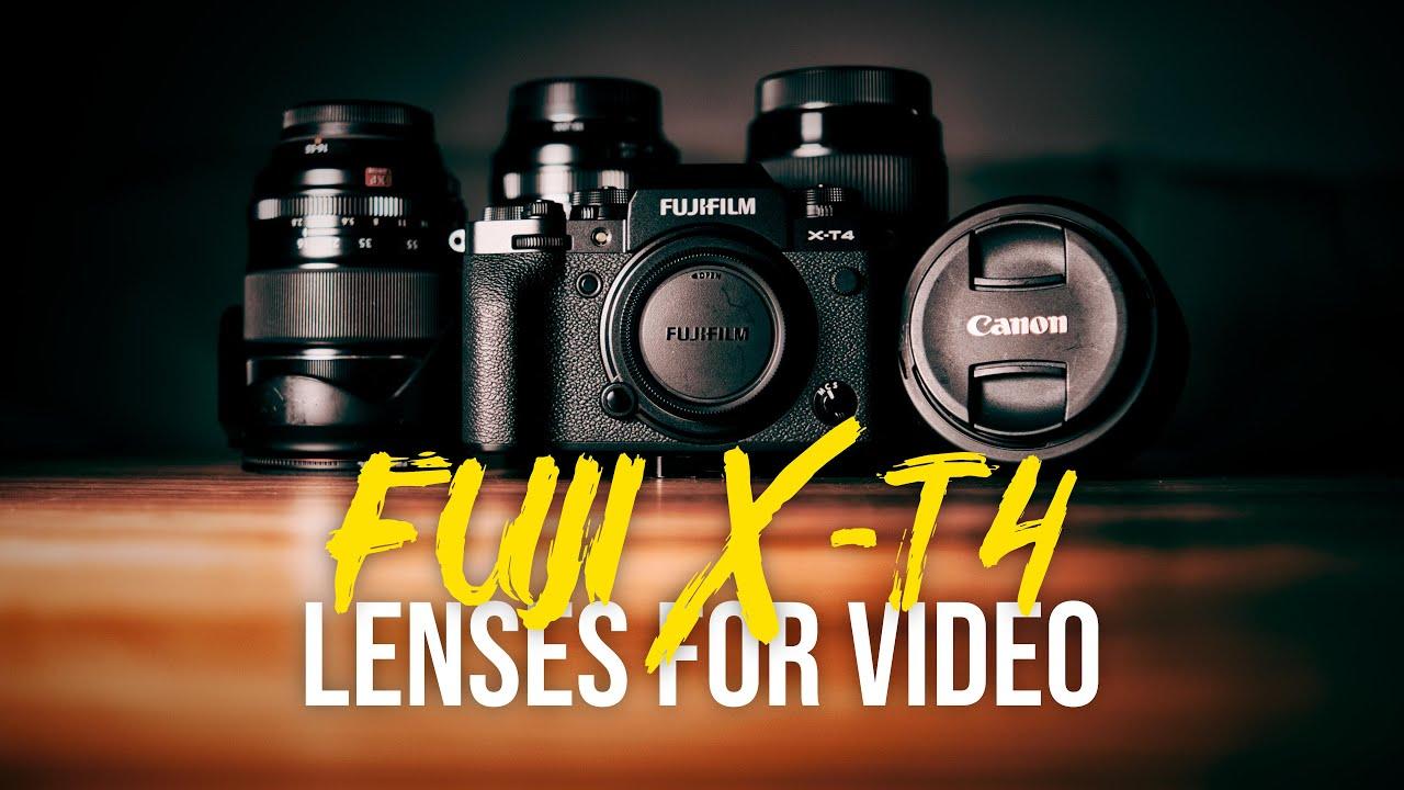 Fujifilm X-T4 - My Favourite Lenses for Video
