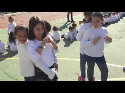 Día de la paz CEIP Mediterrani Mannequin Challenge Elche