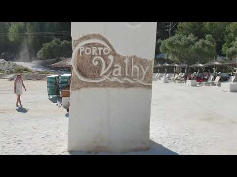 Relly Driving Thassos Go To Marble Beach Island Greece