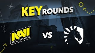 Key rounds: NAVI vs Liquid on Inferno @ ELEAGUE Major 2018