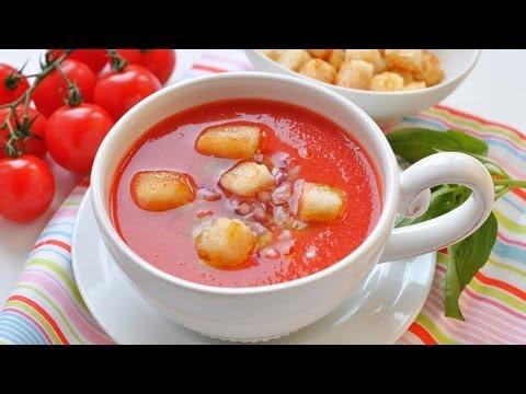 Рецепт Суп из зеленой чечевицы с помидорами на