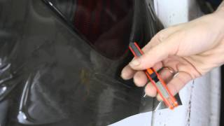 Как затонировать фары(Видео инструкция тонировки фар пленкой., 2014-02-22T22:09:25.000Z)