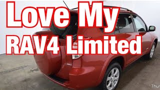 Why I Love My 2012 Toyota RAV4 Limited SUV