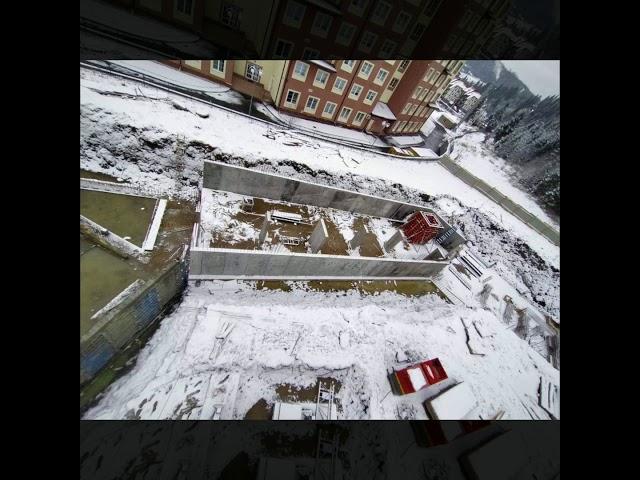 Хід будівництва Апарт-готелю Le Meandre на 1 лютого 2020 року