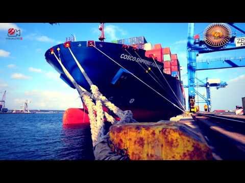 Cosco Shipping Panama arrival in Romania - Constanta Port