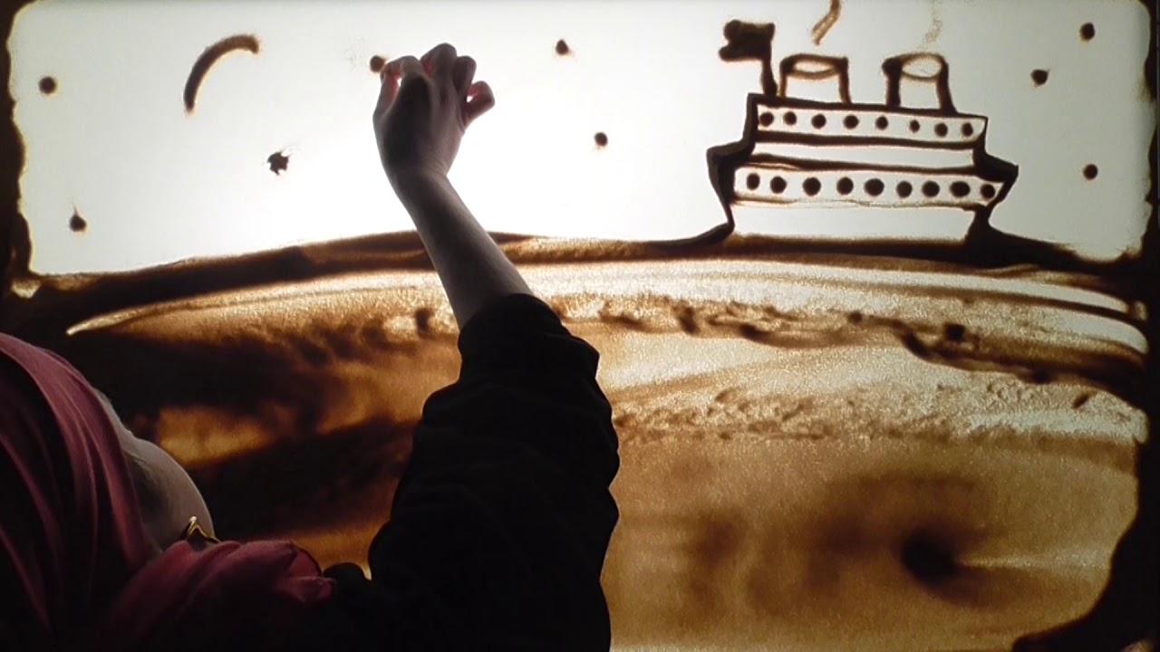 אהרן רזאל // תן לי את היום הזה - קליפ אמנות בחול