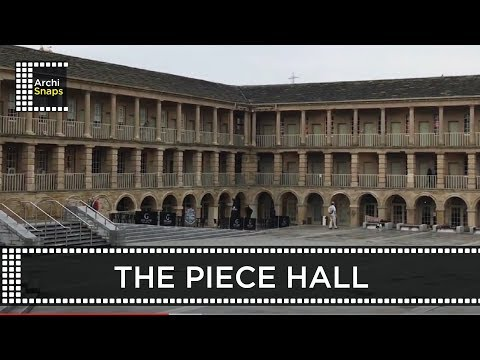 Architecture Snapshots: The Piece Hall by Thomas Bradley. Restored by LDN - Halifax, UK