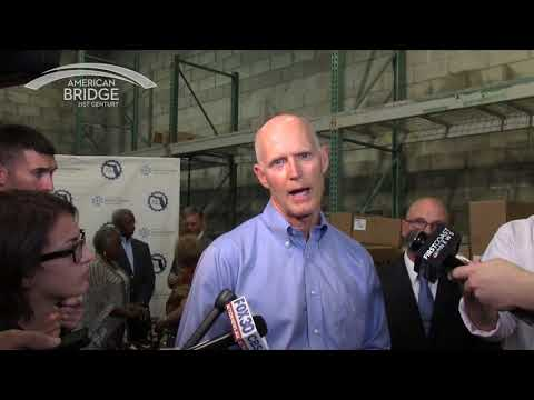 Rick Scott on Guns, Jacksonville, FL 11/6/2017