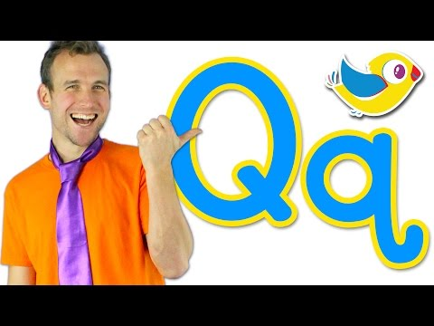 The Letter Q Song - Learn the Alphabet