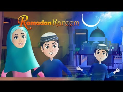 Ramzan ka mahina aa gaya - New Ramadan kids Song with Abdul Bari & Ansharah Urdu