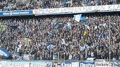 Fans von 1860 München beim Heimspiel gegen Sankt Pauli