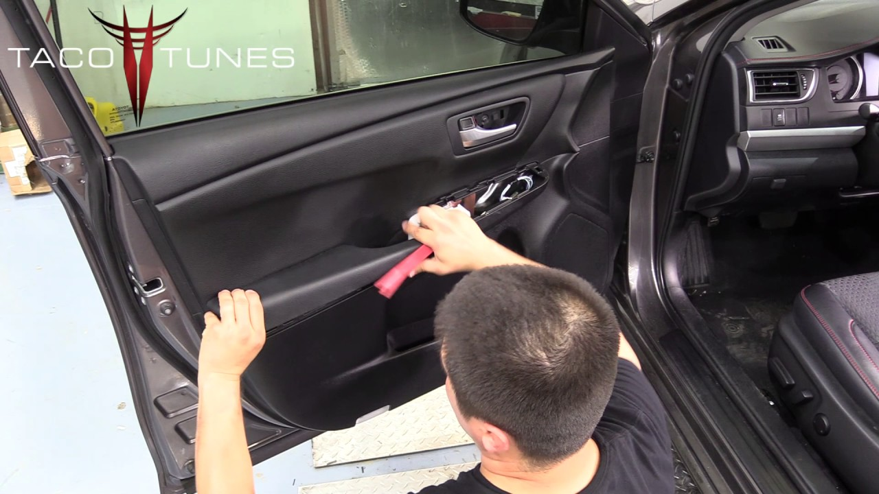 Toyota Camry How To Remove Front Door Panel Amp Front Door