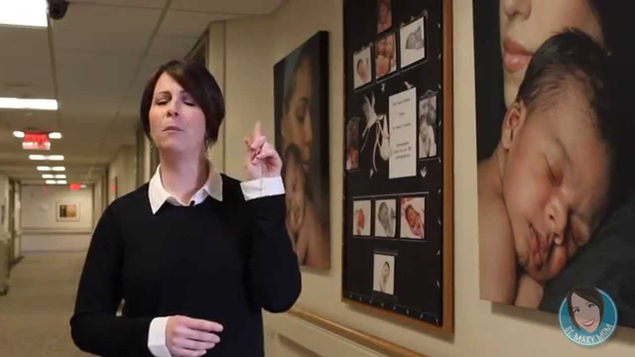 The St. Mary Mom Discusses the Maternity Services at St ...