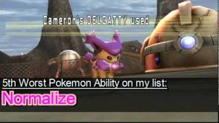 My list of the 10 worst Pokemon Abilities