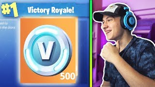 THE MOST LEGENDARY * METHOD OF WINNING A MATCH + V-BUCKS! Fortnite Battle Royale!