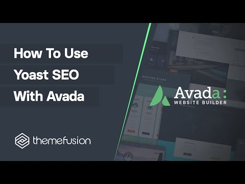 How To Use Yoast SEO With Avada Video