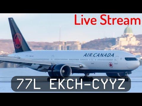 P3D V4.2  - Air Canada 777-200LR - Copenhagen to Toronto (EKCH-CYYZ)