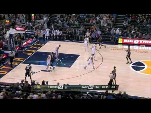 Indiana Pacers vs Utah Jazz | January 21, 2017 | NBA 2016-17 Season