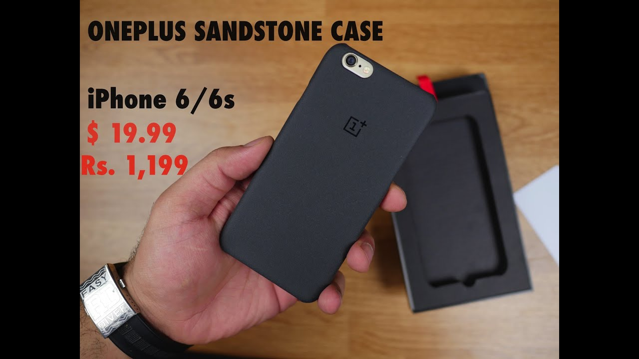 huge discount 50083 dfac8 Oneplus Sandstone Case for iPhone 6 / 6s Quick Review - Best Grip Case