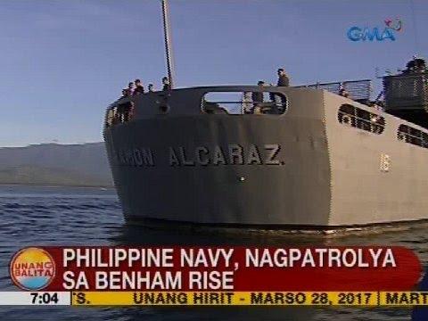 UB: Philippine Navy, nagpatrolya sa Benham Rise