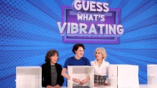 Phoebe Waller-Bridge, Jane Fonda, and Lily Tomlin Play 'Guess What's Vibrating'