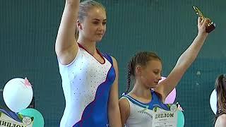 Открытый чемпионат Харькова по прыжкам на акробатической дорожке