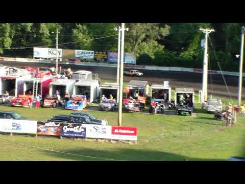 Hobby Stock Heat 1 @ Hamilton County Speedway 07/15/17