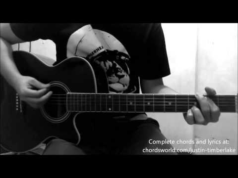 Not A Bad Thing Chords by Justin Timberlake - How To Play - chordsworld.com