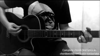 not a bad thing chords by justin timberlake how to play chordsworld com