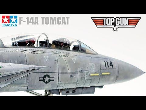 Top Gun F-14A Tomcat Tamiya 1/48 Scale Model Aircraft Build